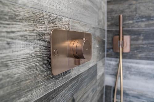 Modern Copper Shower